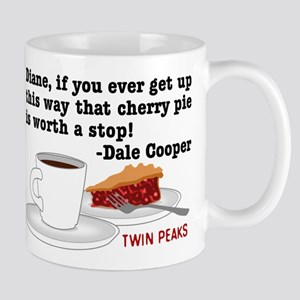 Twin Peaks Diane Cherry Pie Large Mugs