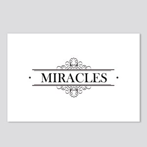 Miracles in Calligraphy Postcards (Package of 8)