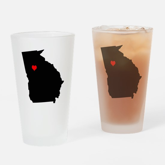 Home State - Georgia Drinking Glass