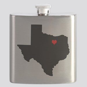 Home State - Texas Flask