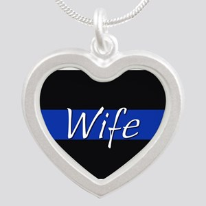 Thin Blue Line Wife Necklaces