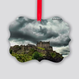 Edinburgh Castle Picture Ornament