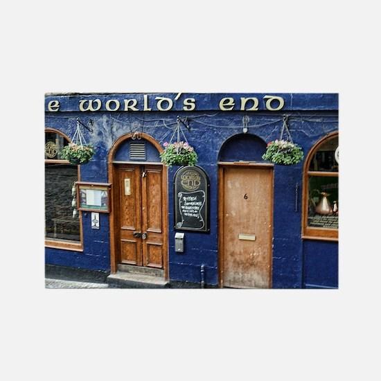 World's End Pub Rectangle Magnet