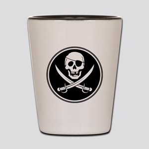 Pirate Logo Shot Glass