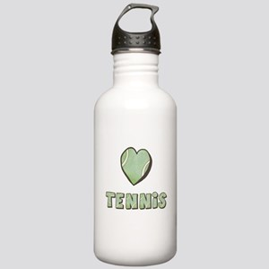 Heart Tennis Stainless Water Bottle 1.0L