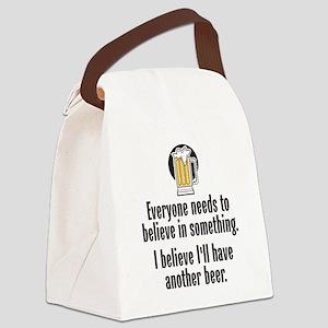 Beer Believe - Canvas Lunch Bag