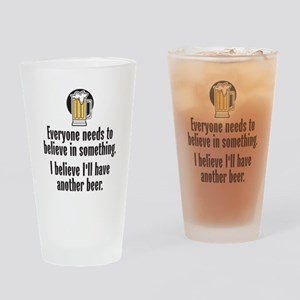 Beer Believe - Drinking Glass