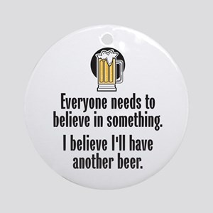Beer Believe - Ornament (Round)