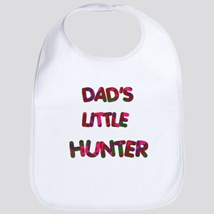 Dads Little Hunter pinks Bib