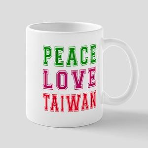Peace Love Taiwan Mug