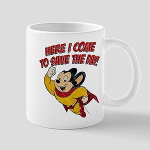 Here I Come to Save the Day Mug