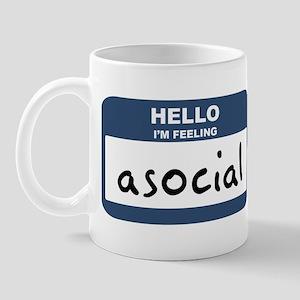 Feeling asocial Mug