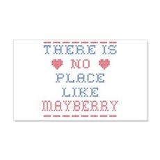 No place like Mayberry Wall Decal