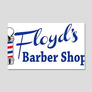 Floyds Barbershop Wall Decal