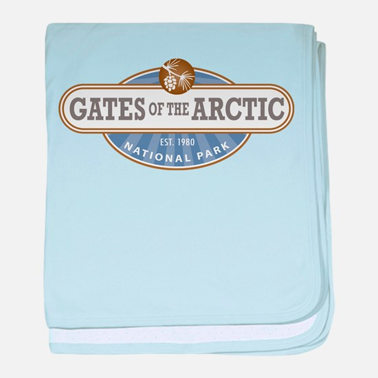 Gates of the Arctic National Park baby blanket