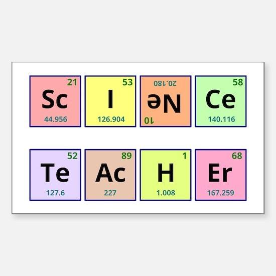 Science Teacher Decal