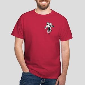 Pen and Ink Iris Dark T-Shirt