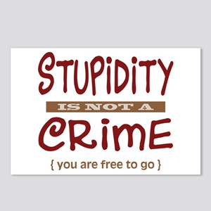 Stupidity - Postcards (Package of 8)