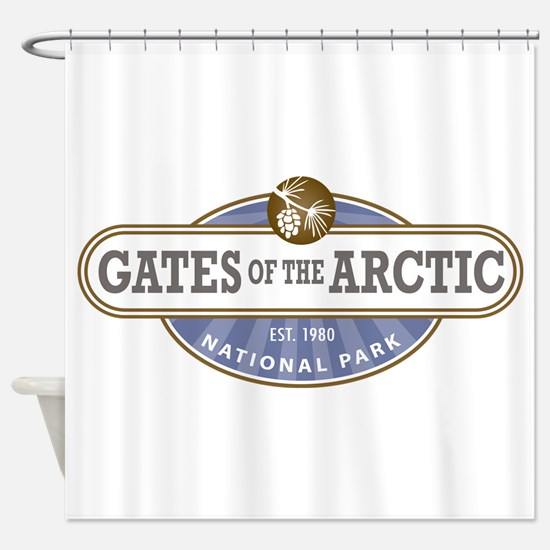 Gates of the Arctic National Park Shower Curtain