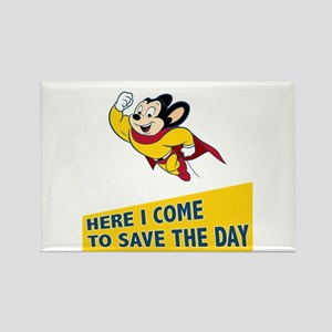 Mighty Mouse Rectangle Magnet