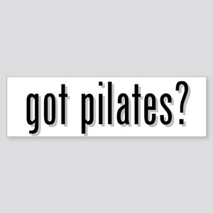 got pilates? Bumper Sticker
