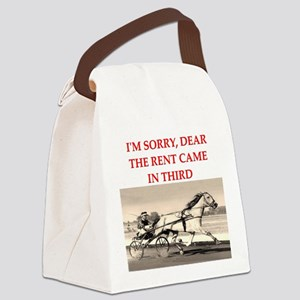 1RACE2 Canvas Lunch Bag