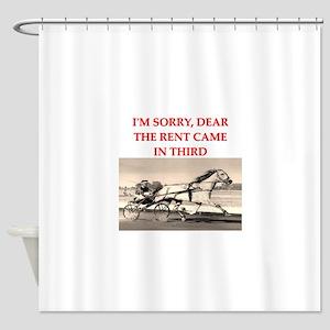 1RACE2 Shower Curtain
