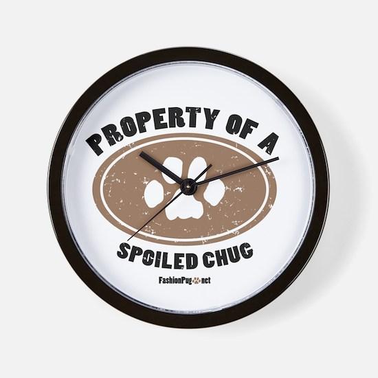Chug dog Wall Clock