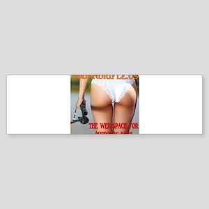 Rod White Swimsuit Bumper Sticker