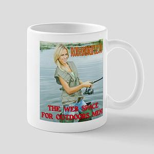 RodandRifle.US Lady Fishing Mugs