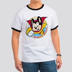 Mighty Mouse Ringer T-Shirt