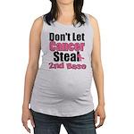 dontletcancersteal2ndbase Maternity Tank Top