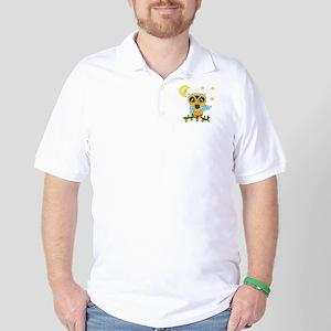 Not Me Girl Owl Golf Shirt
