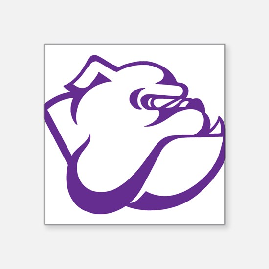 Garfield High School Bulldog Purple Sticker