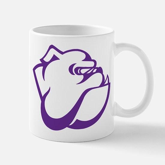 Garfield High School Bulldog Purple Mugs