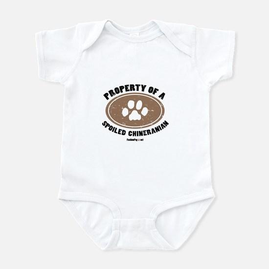 Chineranian dog Infant Bodysuit
