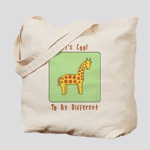 Its Cool to be Different Tote Bag
