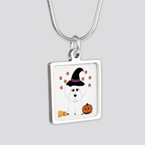 Bichon Frise Witch Necklaces