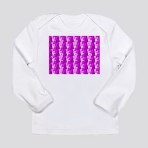 graphic pink pattern Long Sleeve T-Shirt