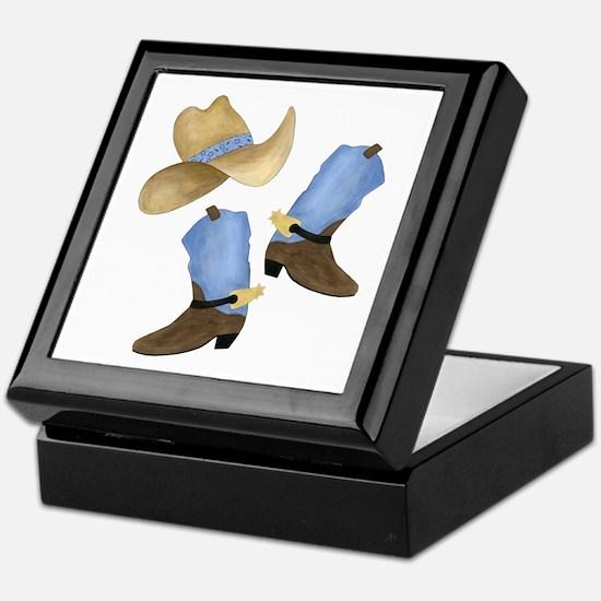 Cowboy - Western Keepsake Box