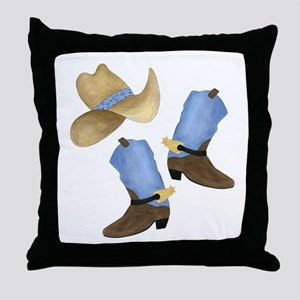 Cowboy - Western Throw Pillow