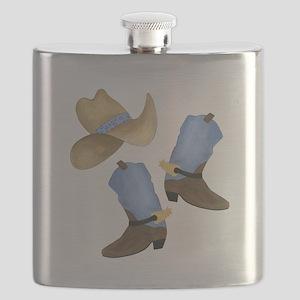 Cowboy - Western Flask