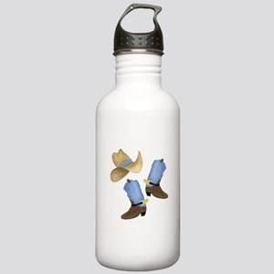 Cowboy - Western Stainless Water Bottle 1.0L