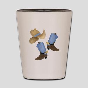 Cowboy - Western Shot Glass