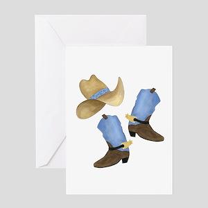 Cowboy - Western Greeting Card