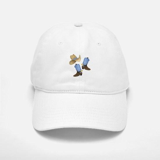 Cowboy - Western Baseball Baseball Cap