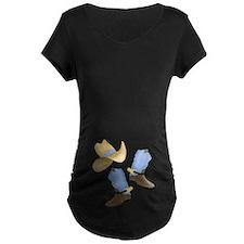 Cowboy - Western Maternity Dark T-Shirt