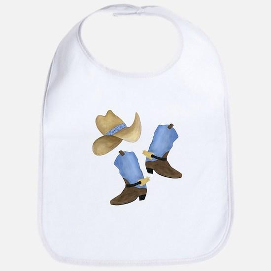 Cowboy - Western Bib