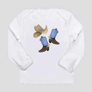 Cowboy - Western Long Sleeve Infant T-Shirt