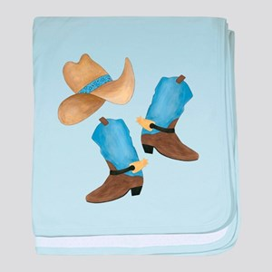 Cowboy - Western baby blanket